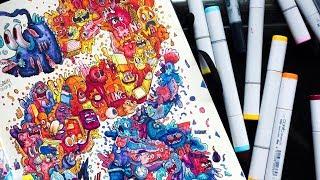 fish-doodle-art-timelapse-copic-illustration-gawx-art