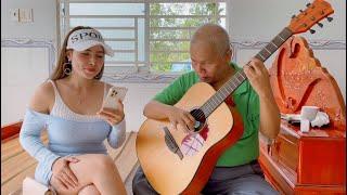 Sha-La-La-La-La cover by Diem Huong & Thanh Dien Guitar