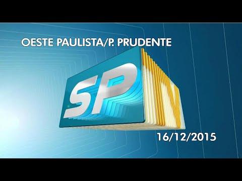[HD] Previsão do Tempo para Presidente Prudente na TV Fronteira (16/12/2015)