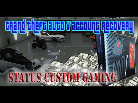 Status Custom Gaming Grand Theft Auto Recovery