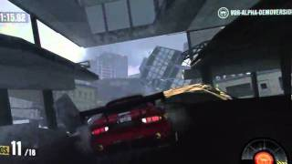 MotorStorm 3 Apocalypse - City Earthquake Gameplay