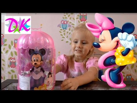 Минни Маус Принцесса и Модница Набор одежды Мультик Свидание с Микки Маусом Minnie Mouse Disney Play