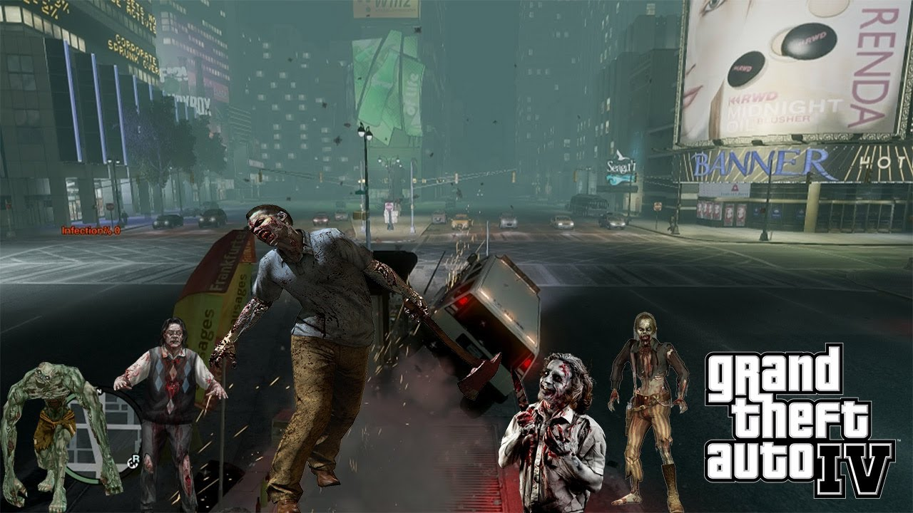 Gta iv zombie apocalypse mod live stream! Will work this time.