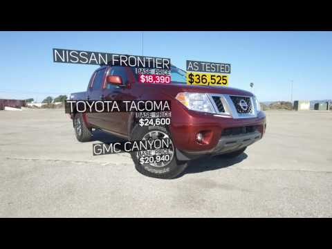 Unboxing 2017 Nissan Frontier - An Old School Truck