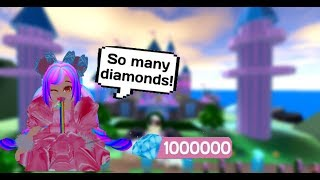 HOW TO GET LOTS OF FREE DIAMONDS!! // Roblox Royale High School