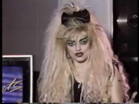 Nina Hagen - Interview Toronto 1987