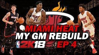 DERRICK ROSE TRADE?? | Miami Heat MyGM REBUILD | NBA 2K18