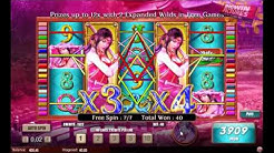 Samurai Princess slot - 7 Free Games!