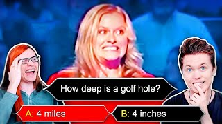 She answered THIS wrong?! (Funny game show answers)