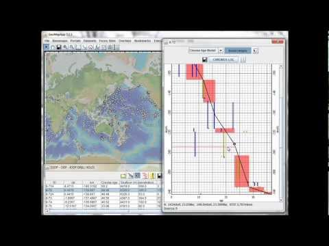 Portals: Ocean Floor Drilling - Age-Depth Models