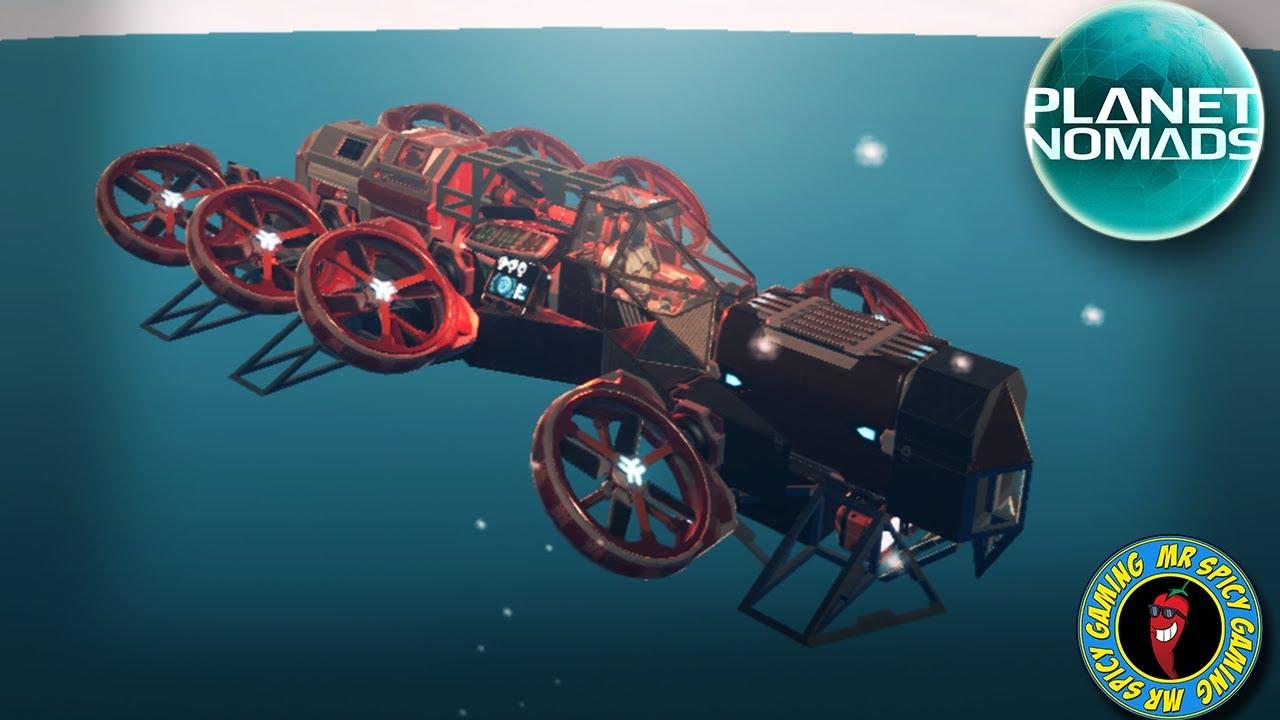 LE PETIT AIR SCOUT DE TANGX69 - Planet Nomads Gameplay S2 Ep55 + vidéo