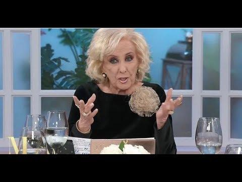 Mirtha: A Alberto Fernández no lo voy a tener en mi mesa