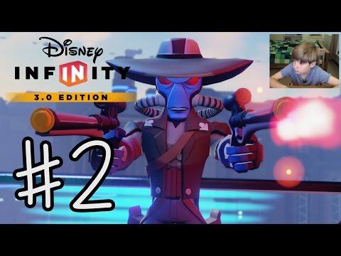 Disney Infinity 3.0: Twilight of the Republic #2 | CAD BANE | KID GAMING