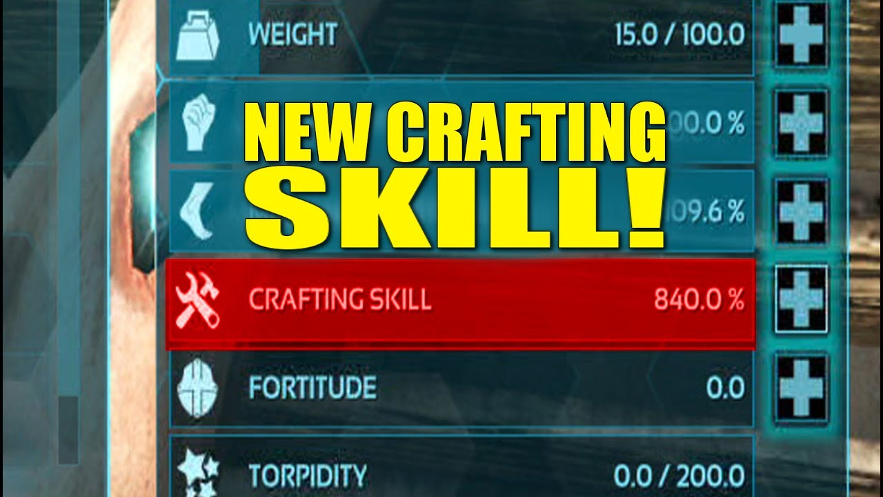 New crafting skill patch 259 make alts now arksurvival evolved make alts now arksurvival evolved malvernweather Choice Image