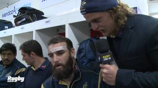 Wallabies: Honey Badger in the sheds after Argentina win!