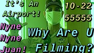 Airport Police Called On Us For Filming, Doesn't Go As We Expected(Must Watch)-1st Amendment Audit
