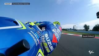 Catalan GP: Suzuki OnBoard