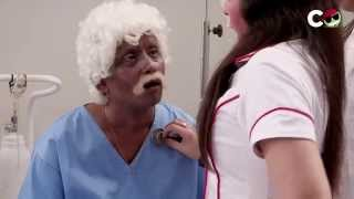 Hot Nurse Caught with Old Man - Suresh Menon Doctor - ComedyOne