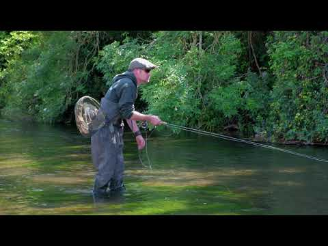 Fly Fishing On The River Itchen