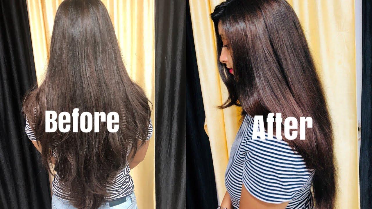 DIY Natural Hair Keratin Treatment At Home - YouTube