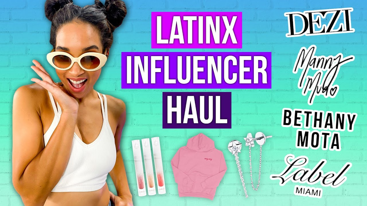 Trying Hispanic-Owned Fashion At Every Price Point! [KathleenLights, Manny Mua & MORE]