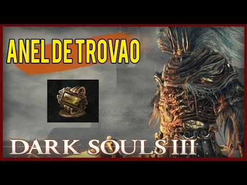 Dark Souls 3 - Thunder Stoneplate Ring / Anel De Quartzo de Trovão
