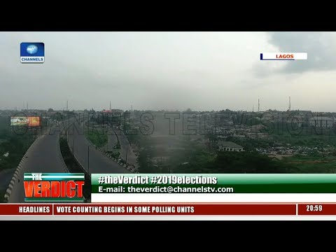 Election Day: Amazing View As Lagos Witnesses Total Absence Of Traffic