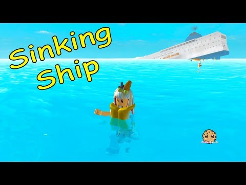 Thumbnail: Flood? Sinking Ship? Can I Survive The Crazy Disaster? Cookie Swirl C Roblox Game Play