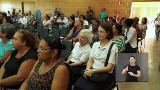 Jornal Acontece - Inauguração Lar Nossa Senhora das Mercês - LIBRAS