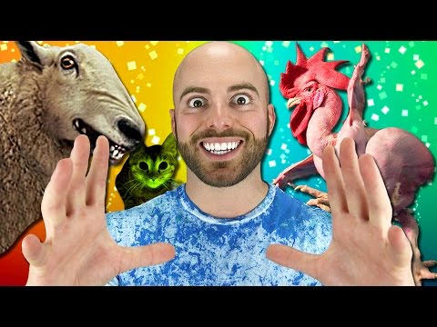 10 AMAZING CREATURES Created by SCIENCE!