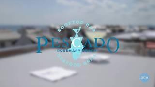 PESCADO Grill & Rooftop Bar's DIY Celery Gimlet 🍸
