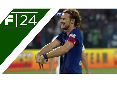 Forlan scores his first ISL goal