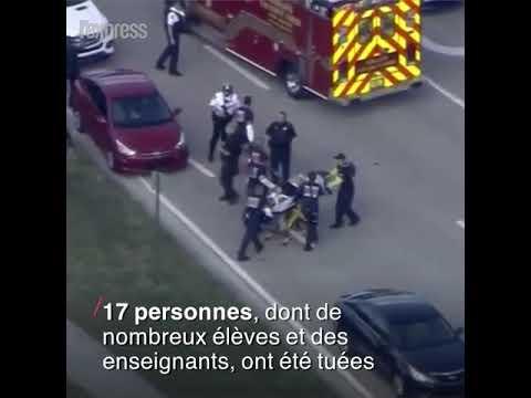 Fusillade dans un lycée en Floride, 17 morts