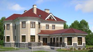 Проект двухэтажного дома 2021 | РЕМСТРОЙСЕРВИС  М-148