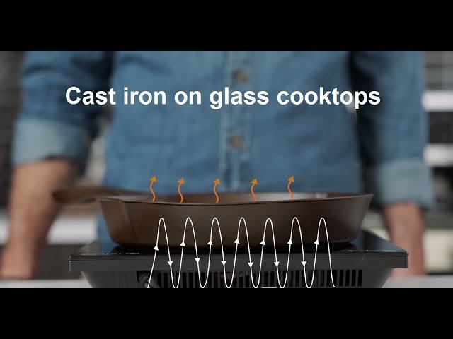 Use Cast Iron On A Glass Cooktop, Enameled Cast Iron Cookware On Glass Top Stove