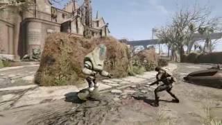 Protectron using Assaultron animations
