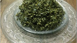 Muringa Ela Thoran / drum stick leaves stir fryമുരിങ്ങാ ഇല തോരൻ