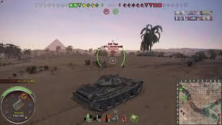 Baixar World of Tanks[Sand Rlver]T-54 ltwt _20180405