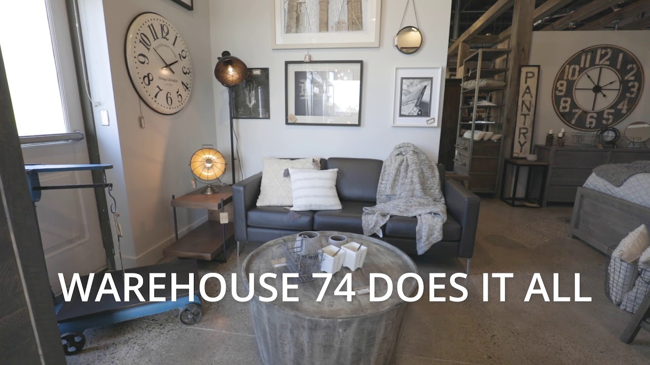 Warehouse 74 Vintage Industrial Home Furnishings London Ontario Youtube