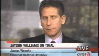Court TV/ Tru TV: Jayson Williams Murder Trial interview with Fred Graham & James Wronko