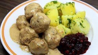 Шведские тефтели / Swedish meatballs
