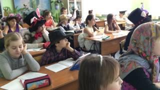 Открытый урок русского языка в 5 кл