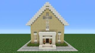 minecraft church tutorial