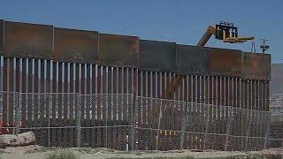Trumps Grenzmauer verärgert Mexiko
