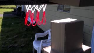 Cardboard Basketball Hoop For Kids Diy Dunk Slam
