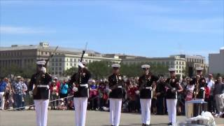 JSDTC | 2014 | United States Marine Corps | Silent Drill Platoon | Armed Exhibition