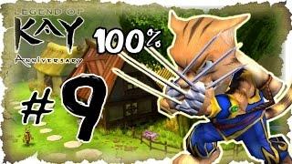 Legend of Kay Anniversary Walkthrough Part 9 (PS4, PS3, WiiU, PS2) 100% Frog City