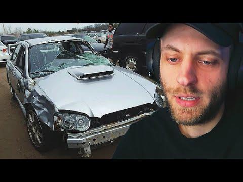 Skasowałem Subaru.