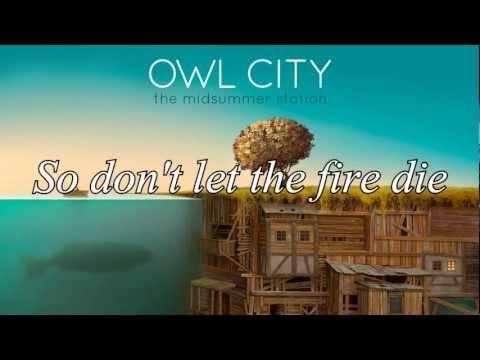 Owl City - Embers [Lyrics]