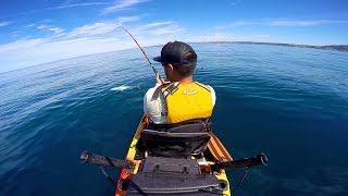 3-14-2015 Kayak Fishing La Jolla, San Diego, Ca